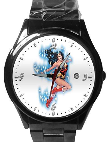 Hot New Custom Printed Wonder Woman Sport Metal Watch