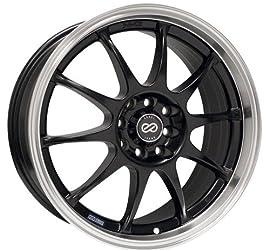 Enkei J10, Performance Series Wheel, Black (16×7″ – 5×112 & 5×114.3, 38mm Offset) 1 Wheel/Rim