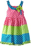 Rare Editions Girls 2-6X Colorblock Woven Dress