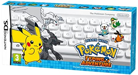 Learn with Pokemon: Typing Adventure DS