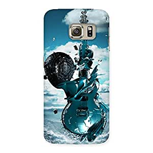 Gorgeous Anime Sky Guitar Back Case Cover for Samsung Galaxy S6 Edge
