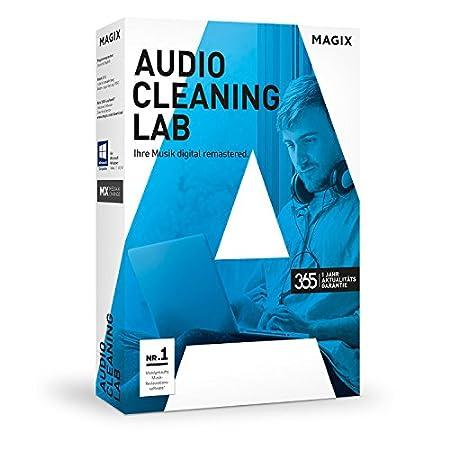 Audio Cleaning Lab 2017 mit dem Audiograbber spielend leicht Audioaufnahmen bearbeiten