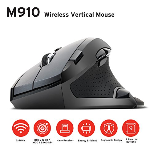Etekcity Scroll Wireless Vertical Mouse