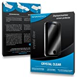 2 x SWIDO Crystal Clear Screen Protector for Panasonic Lumix DMC-FS35 / FS-35 - PREMIUM QUALITY (crystalclear, hard-coated, bubble free application)