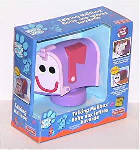 Amazon.com: Blue's Clues Talking Mailbox Toy: Toys & Games