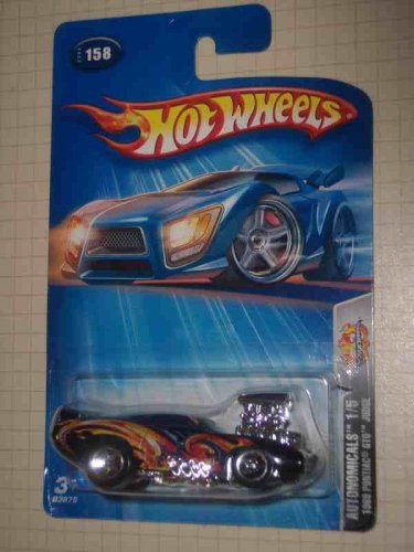 Autonomicals Series #1 1969 Pontiac GTO Judge China #2004-158 Collectible Collector Car Mattel Hot Wheels