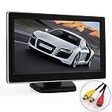 ePathChina� 5 Zoll TFT LCD Digital Auto Sicherheits View Monitor mit Auto R�ckfahrkameras 2 Video-Eingang, Hochaufl�send
