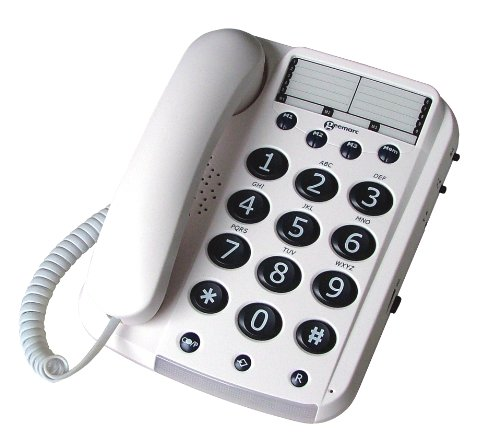 Geemarc Dallas 10 Big Button Corded Telephone- UK Version Reviews