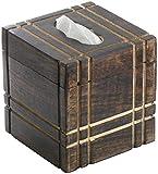 Große Holz Box für Tücher-box Gewebe Box Kosmetiktuchspender Kleenexbox Tücherbox