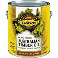 Valspar 140.0019460.007 Water Reducible Australian Timber Oil Exterior Oil Finish