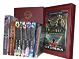 Rick Riordan Percy Jackson Collection: Sword of Hades, Lightning Thief, Last Olympian, Titan's Curse, Sea of Monsters, Battle of the Labyrinth, the Red Pyramid, the Throne of Fire