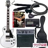 Maison メイソン エレキギター レスポールタイプ サクラ楽器オリジナル LP-38/WH 初心者入門リミテッドセット