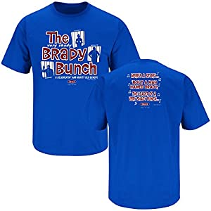 Buffalo Bills Fans. Brady Bunch Blue T-Shirt (S-5X)