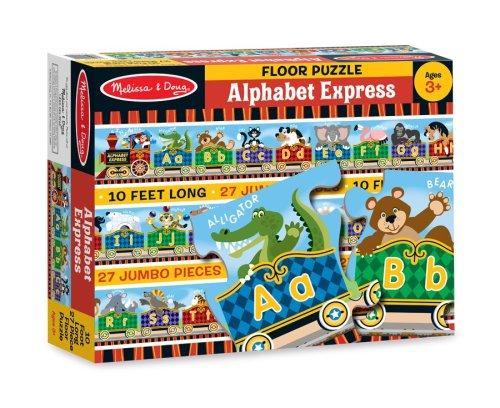 Cheap Fun Melissa & Doug Alphabet Express Floor Puzzle (B00146LV6Q)