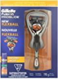 Gillette Fusion Proglide Manual Men's Razor with Flexball Handle Technology with Bonus Shave Gel