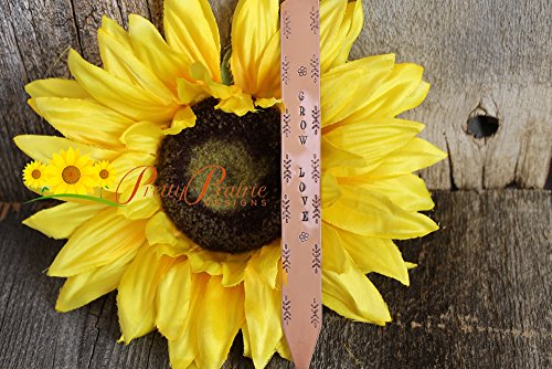 Herb Garden Markers - Perfect Named Flower Stakes - Plant Markers - Custom Made for Your Garden - Gardener, Birthday or Teachers Gift