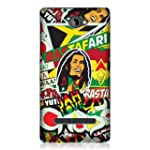 Head Case Designs Rasta Sticker Happy...