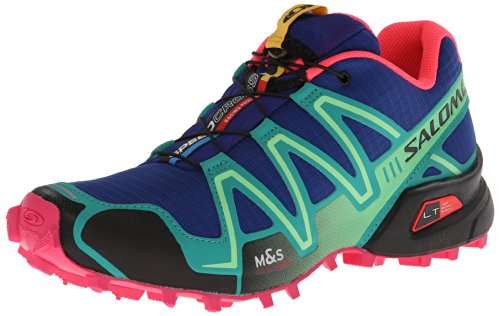 Saslomon Speedcross 3 Womens Trail Running Trainers UK7.5