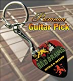 Bad Brains Build A Nation Premium Guitar Pick Keyring