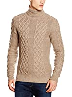 Hackett London Jersey Lana May Wo Cash Rl Nk (Beige)