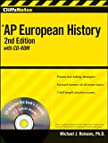 img - for CliffsNotes AP European History with CD-ROM, 2nd Edition (Cliffs AP) book / textbook / text book