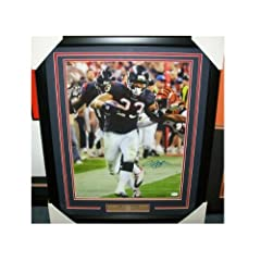ARIAN FOSTER JSA COA AUTOGRAPHED FRAMED 16X20 PHOTO HOUSTON TEXANS SIGNED