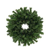 24″ Canadian Pine Artificial Christmas Wreath – Unlit
