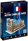 CubicFun Notre Dame of Paris France 3D Puzzle