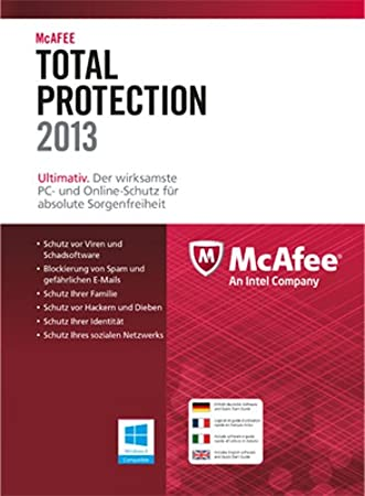 McAfee Total Protection 2013 - 3 User [Download]