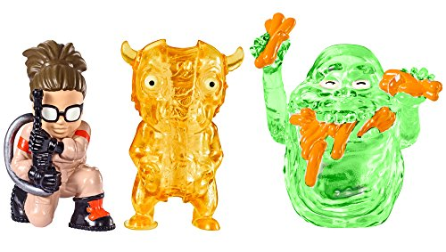 Ghostbusters - Abby, Slimer Hot Dog, Splitting Ghost Mini Figures