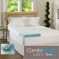 Beautyrest 3-inch Gel Memory Foam Mattress Topper & Waterproof Cover - Queen