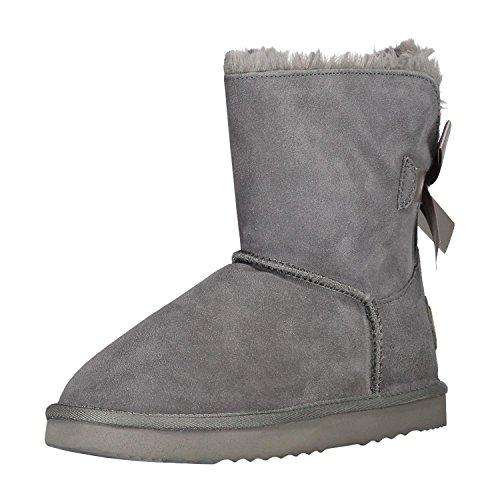 oog-by-h4f-damen-leder-boots-stiefel-satin-bow-mit-teddy-fell-futter-farbe-grau-grosse-37