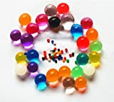 Sensory Jungle Rainbow Water Beads, Sensory Integration Toy for Special Needs Kids, 8000 ct