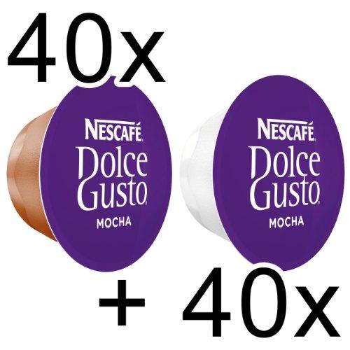 Get 80 x Nescafé Dolce Gusto Mocha, 80 Capsules 40 Portions - Nestlé