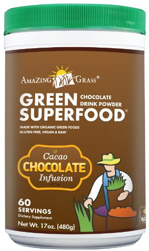 Amazing grass chocolate drink powder