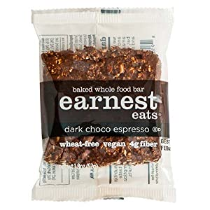 Earnest Eats Baked Whole Food Bar, Double Choco Espresso, 1.8-Ounce Bars (Pack of 12)