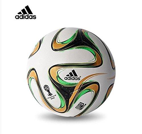2014 Brazil World Cup Final Adidas Brazuca Official Match Ball Soccer Ball (Standard Size 5)