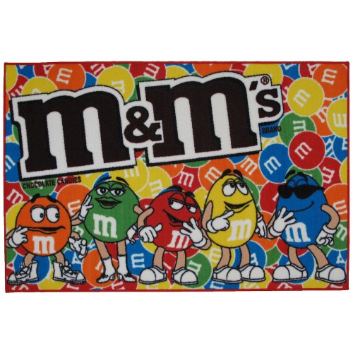 M & M's Party Area Rug 39