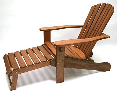 Outdoor Interiors Cd3111 Eucalyptus Adirondack Chair And