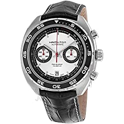 Hamilton Timeless Classic Pan Europ Stainless Steel Chronograph Mens Watch