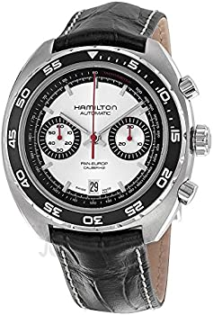 Hamilton Stainless Steel Chronograph Mens Watch