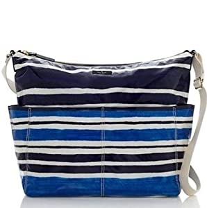 Kate Spade Daycation Serena Baby Bag Capri Stripe Blue Diaper Bag by Kate Spade York by kate spade