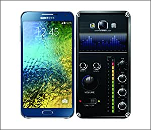 Galaxy Printed 1780 Amplifier Box Blue Equalizer Hard Cover for Samsung ACE 3 (7272)