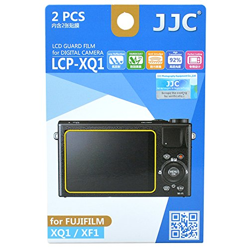 Jjc Lcp-Xq1 Guard Film Digital Camera Lcd Screen Protector For Fujifilm Xq1 Xf1