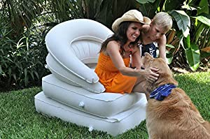 Camping & RV Comfort Chair, Lounger, Recliner and Bed - a 4 in 1 Solution -... by LoungAir - Camping Comfort Solutions