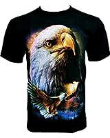 Rock Chang T-Shirt Eagle Aigle R 502
