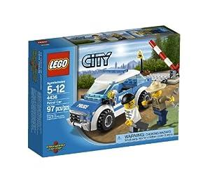 (历史最低)LEGO 乐高都市系列 警 察 巡逻车City Police Patrol Car 4436 $8.39