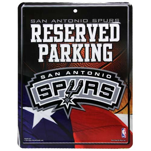 NBA San Antonio Spurs Parking Sign
