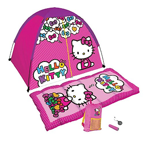 Hello-Kitty-5-Piece-Camp-Kit-with-Sleeping-Bag-and-Tent
