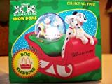 51haT2AKuwL. SL160  101 Dalmatians Dog Sledding Snow Dome 1996